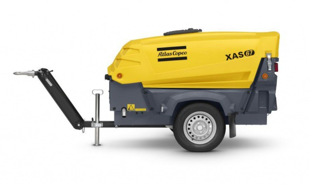Kompressor, Atlas Copco XAS67 7 bar