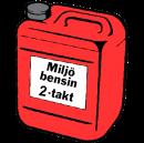 Miljöbensin 2-takt, 5 liter