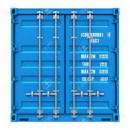 Container c8 8 fots oisolerad