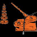 Armeringsbock, manuell -25 mm