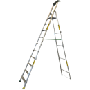 Trappstege 10 steg, plattformshöjd 2,47 meter