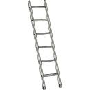 Stege, enkel 5,4 meter