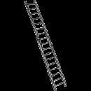 Stege, 2-delad 4,8 meter